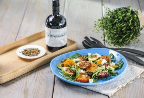 Salat-mit-frischen-Feigen