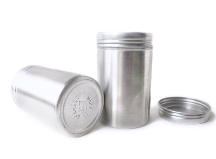Aluminium-Gewurzdose