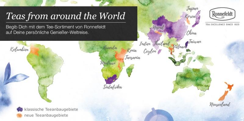 Ronnefeldt Weltkarte