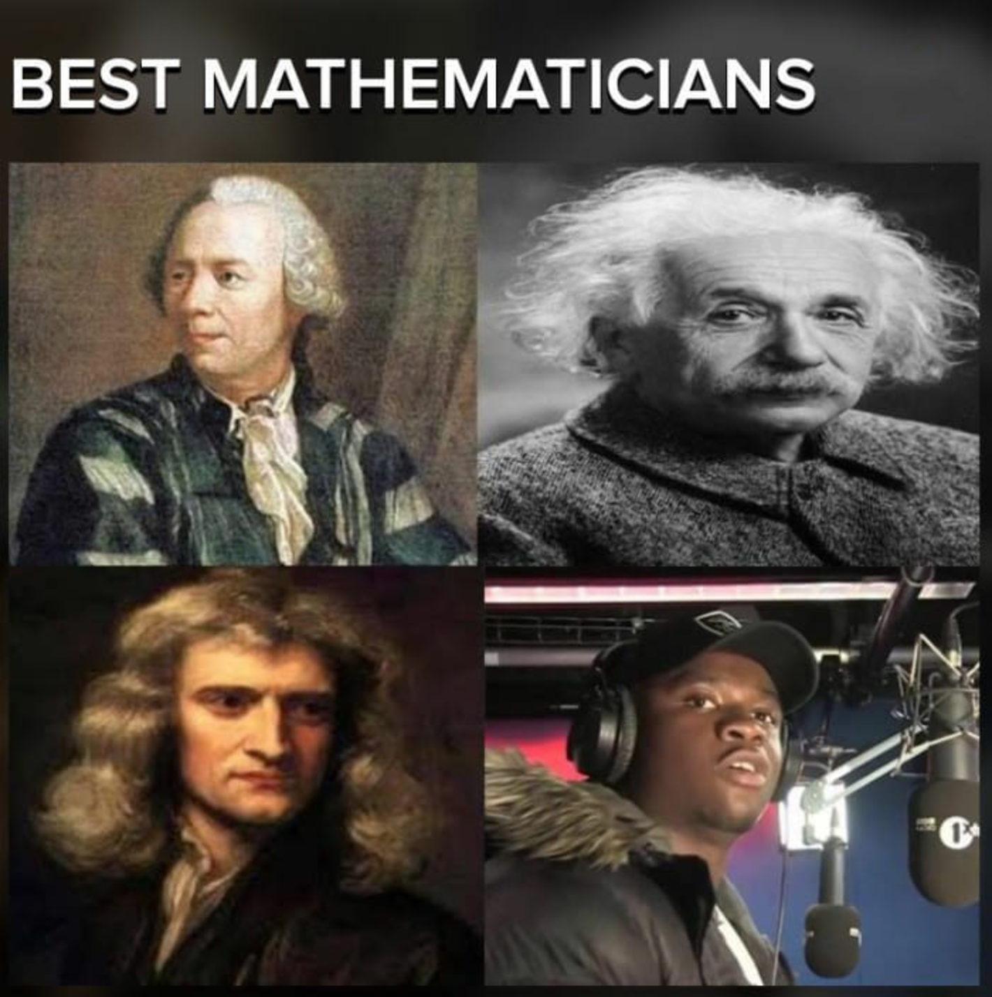 Best Mathematicians