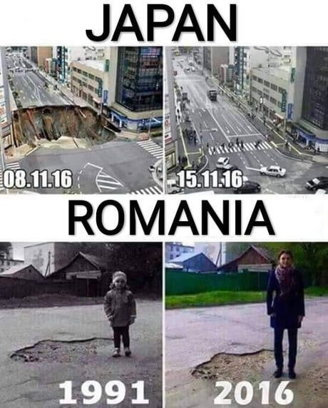 Things don't change that that fast in Romania