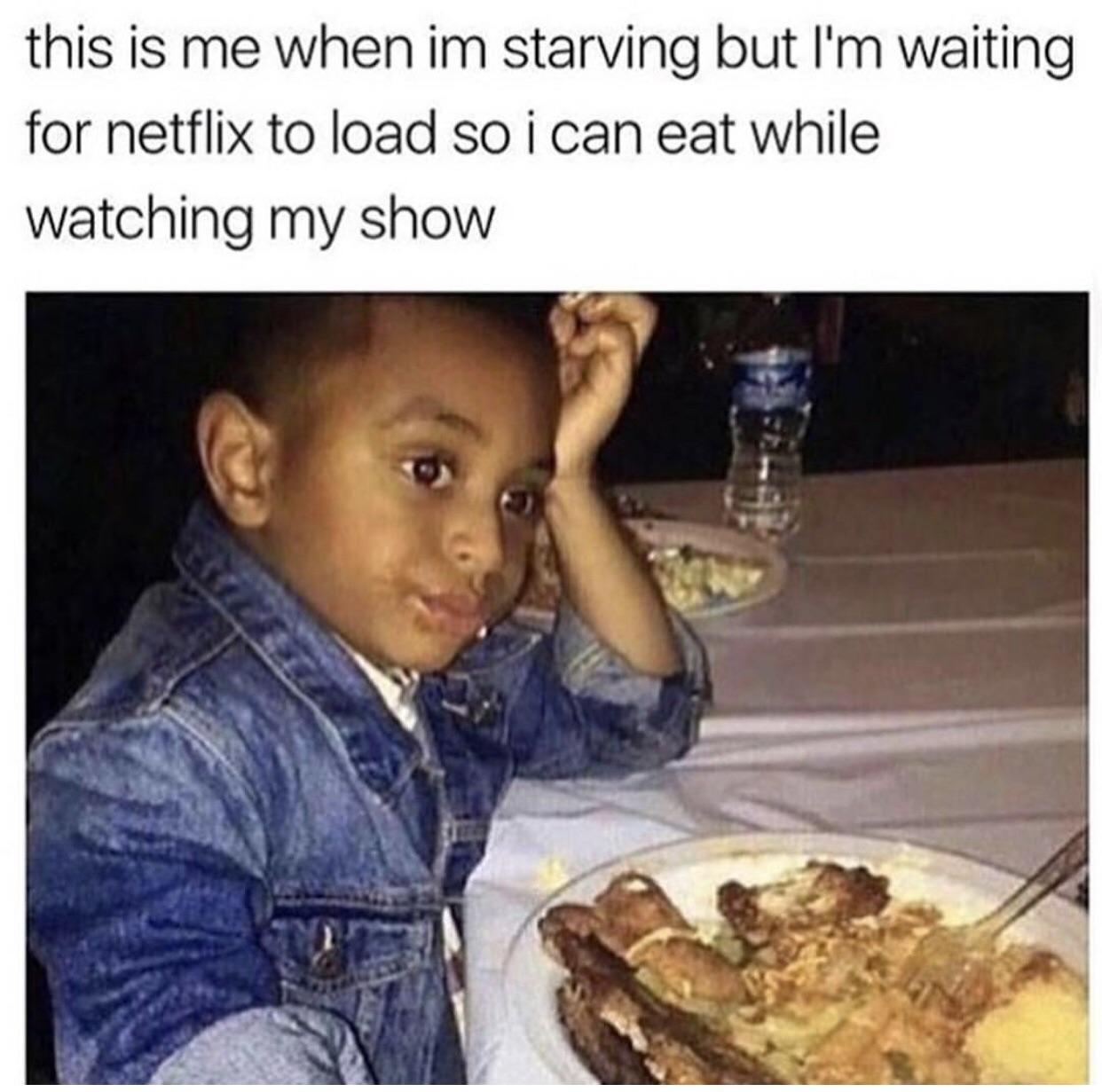 The struggles of Netflix and food
