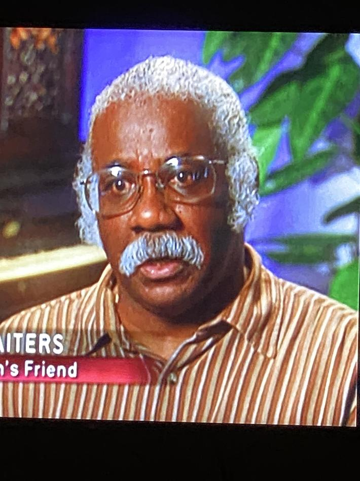 This guy in Forensic Files looks like Kenan Thompson in costume.