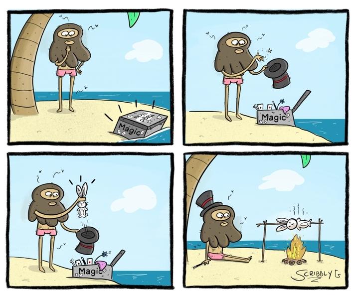 Island Guy - Magic Trick