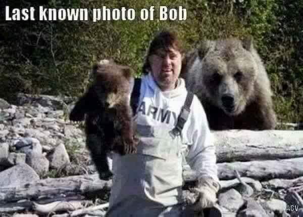 Anyone seen Bob?