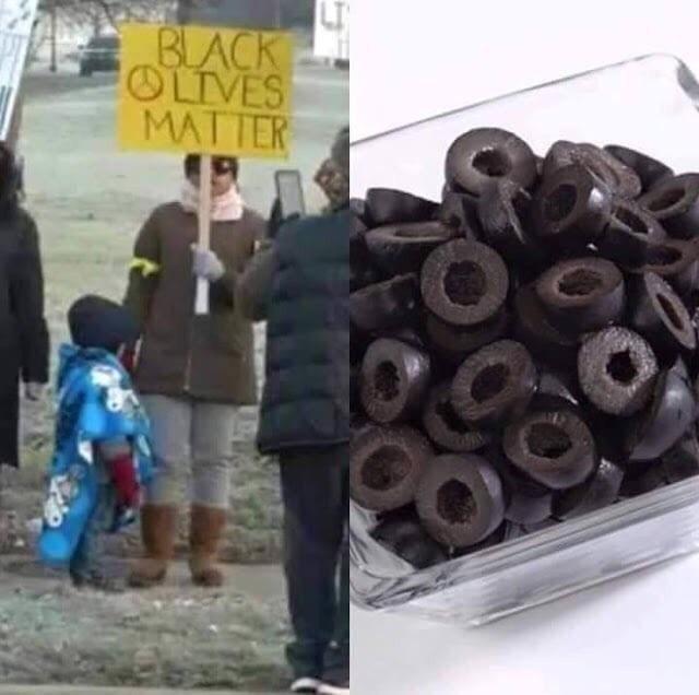 Black Olives Matter!