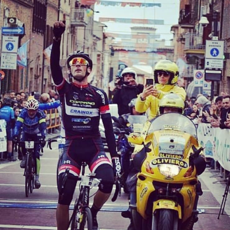 Cicli Copparo presente alla Lipobreak Race con Cecchini, Pozzetto e Cini