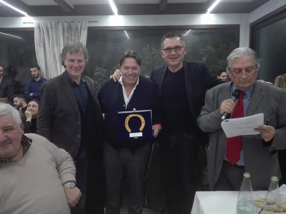 Ospite d'onore Riccardo Magrini (ex professionista e commentatore delle gare di ciclismo per conto di Eurosport)