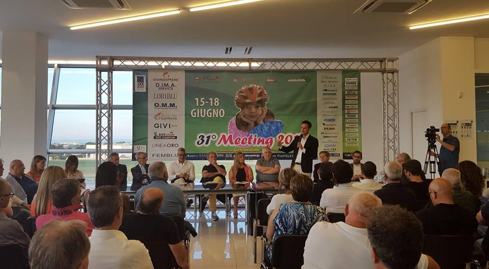 Diamante Loriblu, presentazione del Meeting Nazionale Giovanissimi 31 a Porto Sant'Elpidio, il sindaco Nazareno Franchellucci