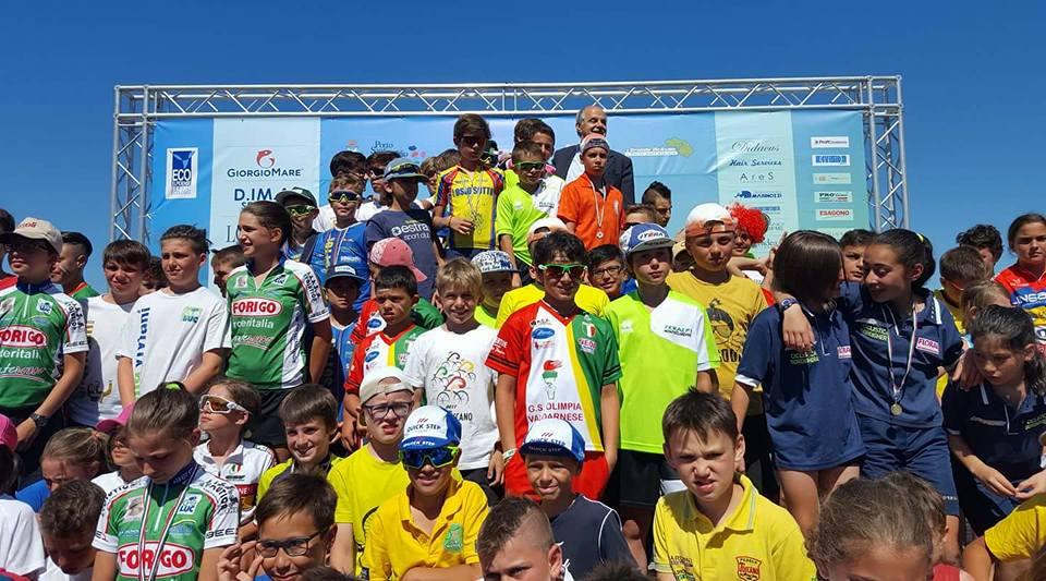 Le gare di circuito su strada della seconda giornata del Meeting Nazionale Giovanissimi 2017