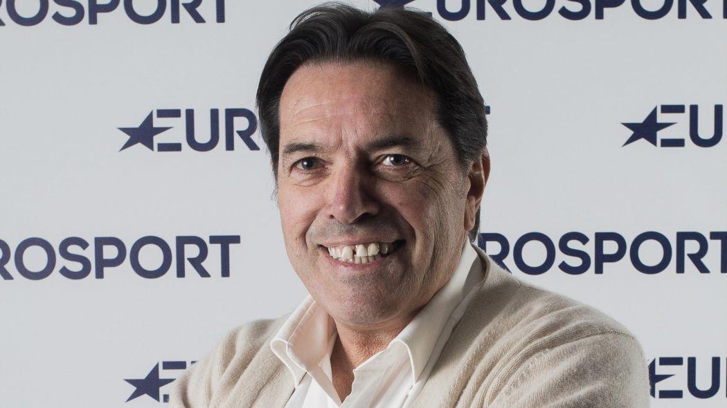 L'ospite della serata Riccardo Magrini, ex professionista degli anni ottanta e voce tecnica del ciclismo per conto di Eurosport