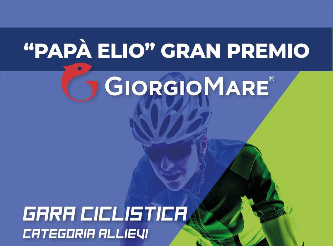 Copertina Papà Elio Gran Premio Giorgio Mare, 28 luglio 2019 ad Urbisaglia