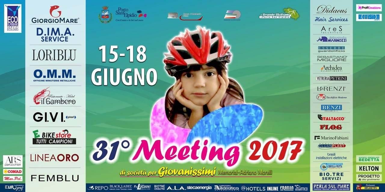 Locandina del Meeting Nazionale Giovanissimi a Porto Sant'Elpidio