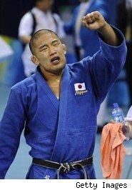Satoshi Ishii si allena con Machida 1