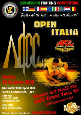 26 ottobre: ADCC OPEN ITALIA 2008 1