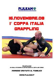 FIJLKAM - 1 Coppa Italia di Grappling 2008 1