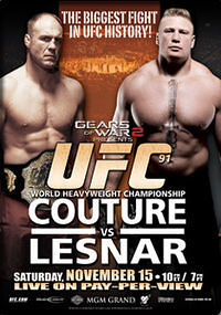 UFC 91: Couture vs. Lesnar  1