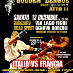 GOLDEN LEAGUE: Italia Vs Francia 2