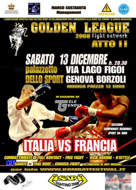 GOLDEN LEAGUE: Italia Vs Francia 1