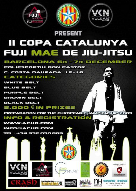 Risultati II Coppa Fuji Mae di jiu-jitsu (Catalonia) 1
