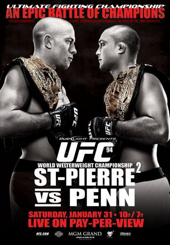 UFC 94: Georges St. Pierre vs. BJ Pen 1