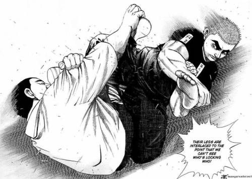 Fumetto MMA: TOUGH ! (di Tetsuya Saruwatari ) 2