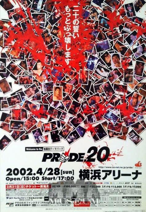 Tutti gli eventi PRIDE FC MMA 78