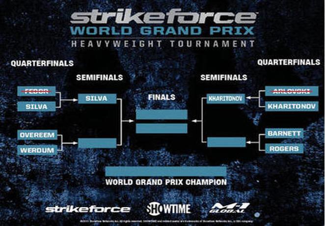 Strikeforce Heavyweight GP 2011 1