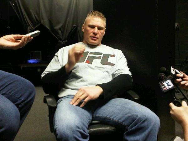Brock Lesnar: Sono un combattente 1