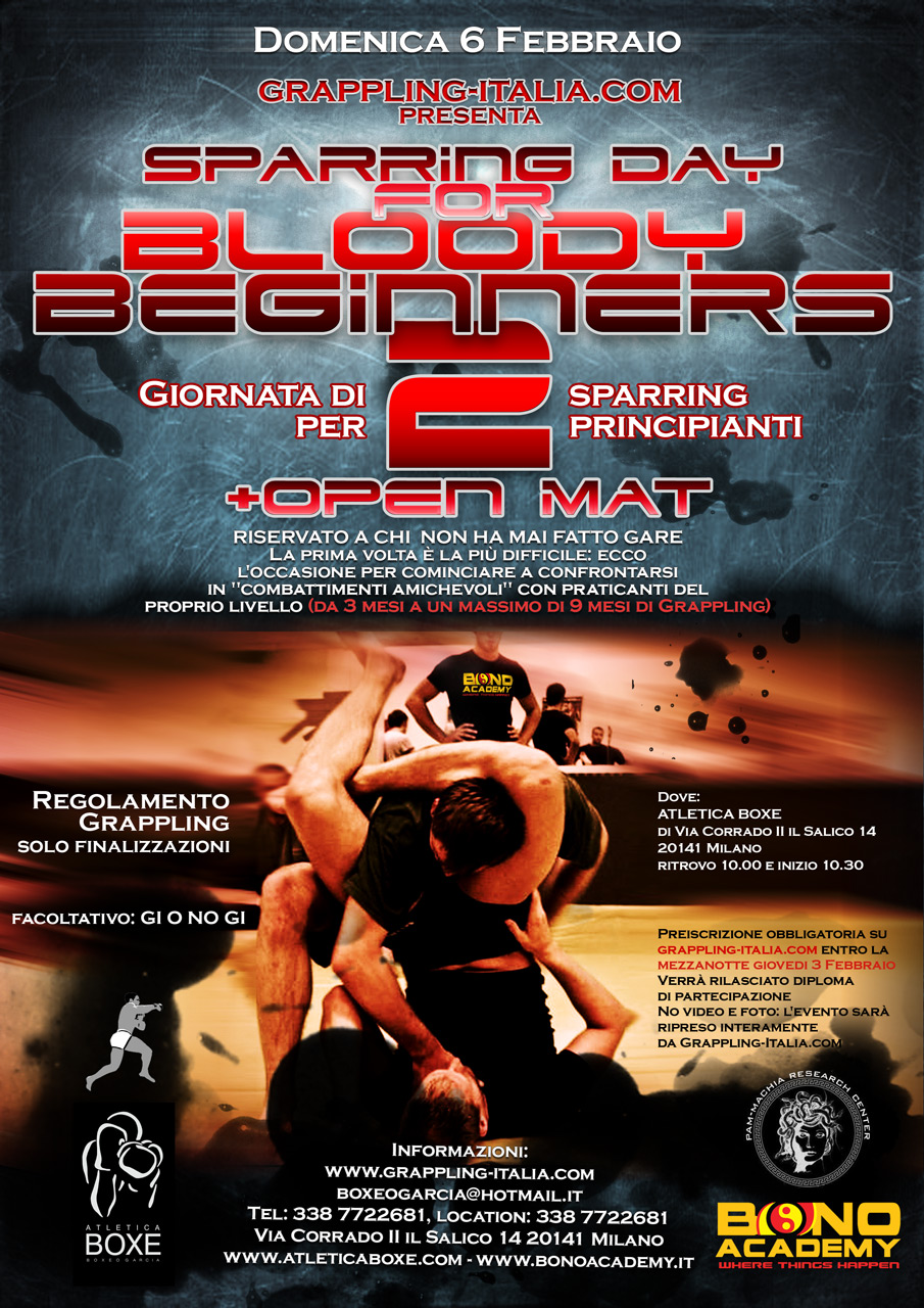 Bloody Beginners II - rinviata 3