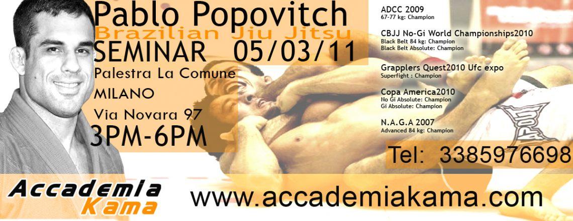 Seminario Popovitch: scendono i prezzi! 3