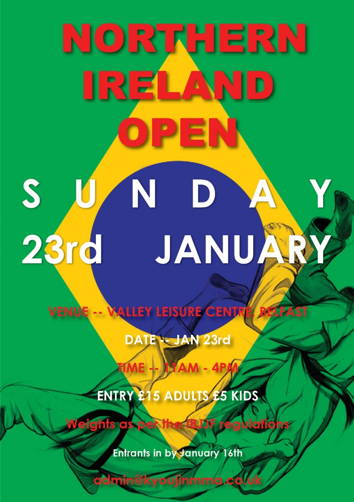 Northern Ireland BJJ Open 2011  1