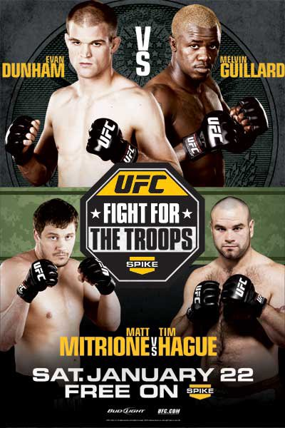 UFC fight for the troops 2: risultati 1