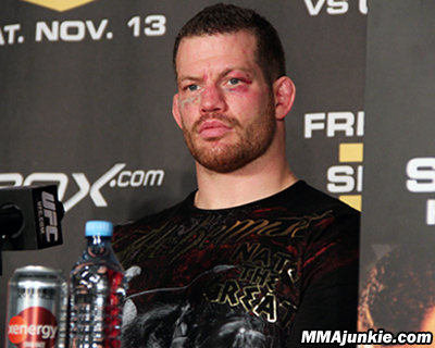 Chael Sonnen Out, Marquardt In 1
