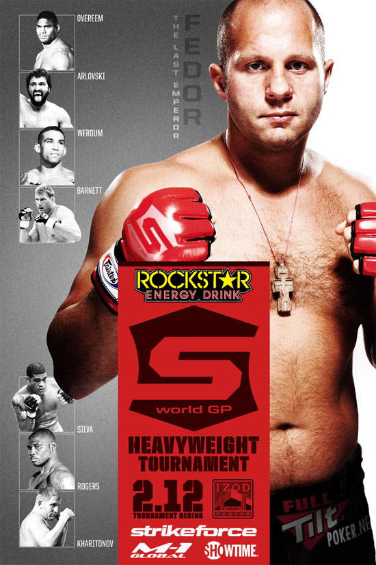 Strikeforce World GP 2011 - Quarti: Fedor Emelianenko vs BigFoot Silva 3