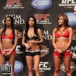 Ring girls UFC... poteva mancare una foto del nuovo trio ? 7
