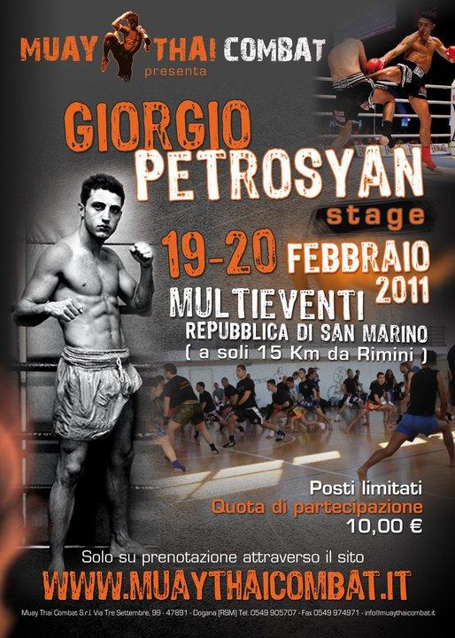 Re Giorgio Petrosyan in stage 1
