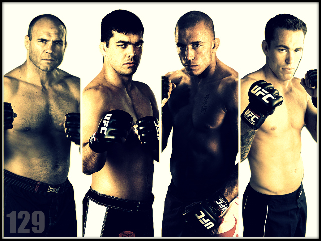 UFC 129: Randy Couture vs. Lyoto Machida, Georges St. Pierre vs. Jake Shields! 1