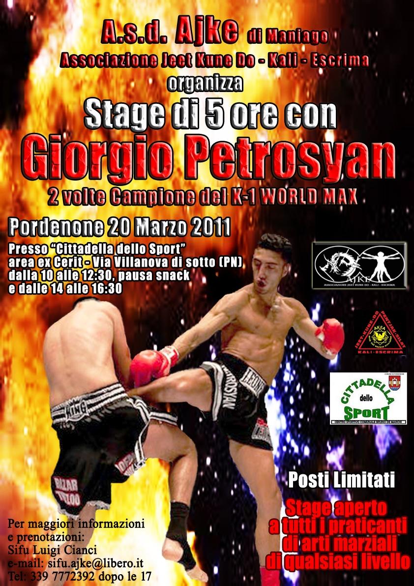 Giorgio Petrosyan a Pordenone 1