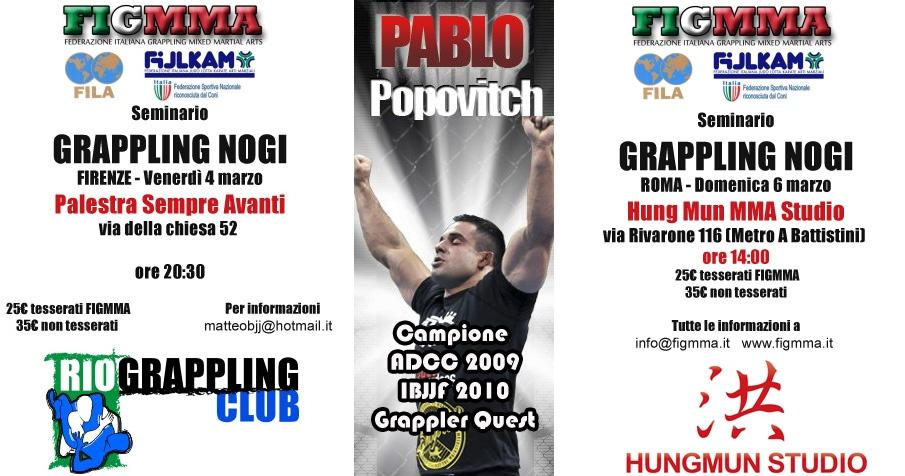 Pablo Popovitch anche a Firenze e a Roma 1