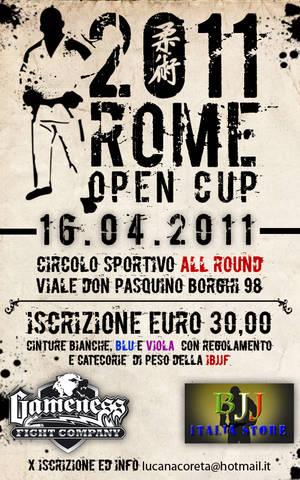Roma Open Cup 2011: risultati 1