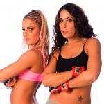 "MMA Felice ""Lil Dog"" Herrig e Michele ""Diablita"" Gutierre"