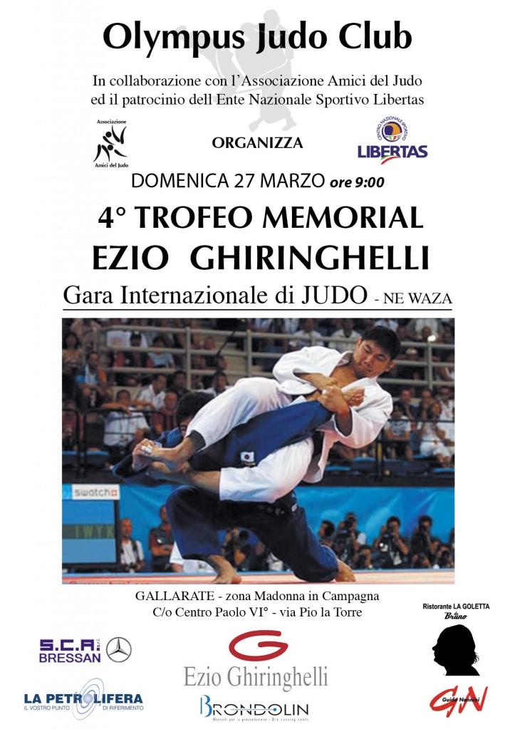 Torneo di Judo - Newaza a Milano 1