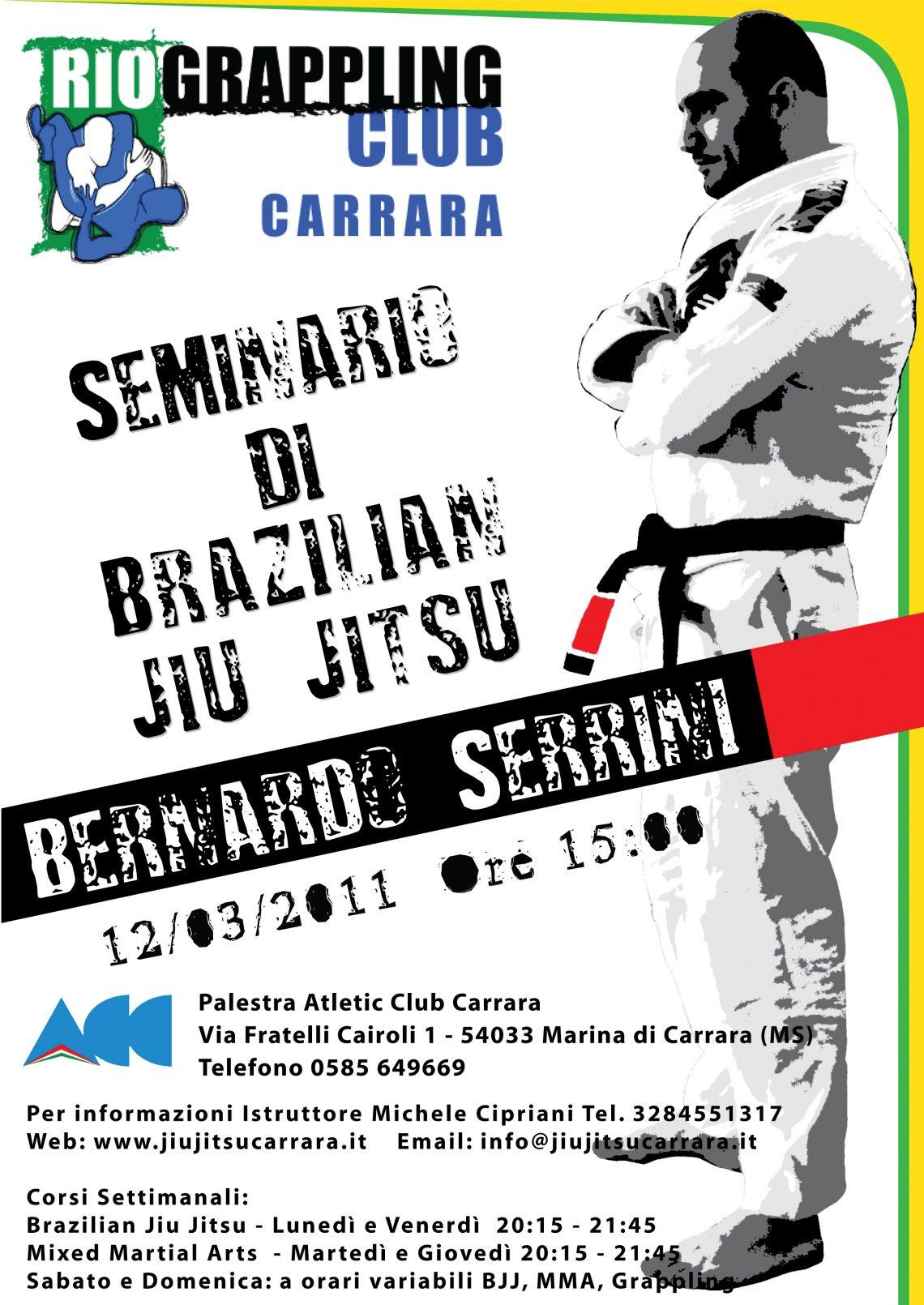 Bernardo Serrini a Carrara 1