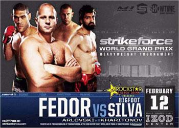 Strikeforce GP: Fedor Emelianenko Vs BigFoot Silva - Risultati LIVE 1