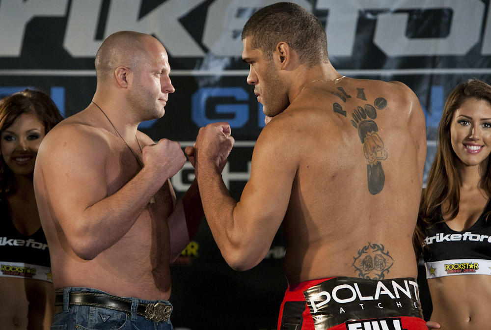Fedor vs. Bigfoot Silva: Gracie Breakdown 1