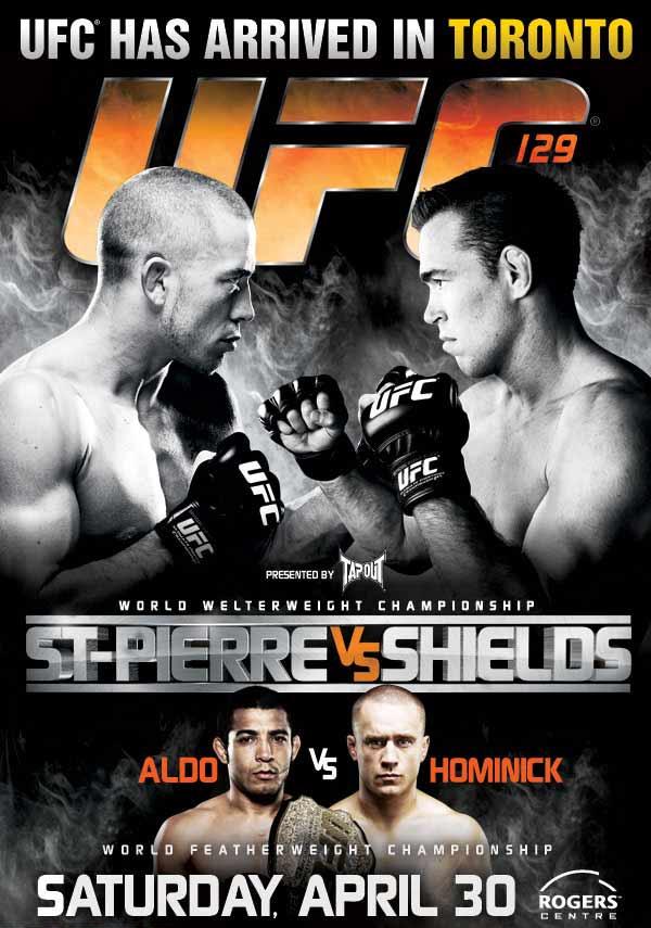 UFC 129 - domande pre-lancio 1