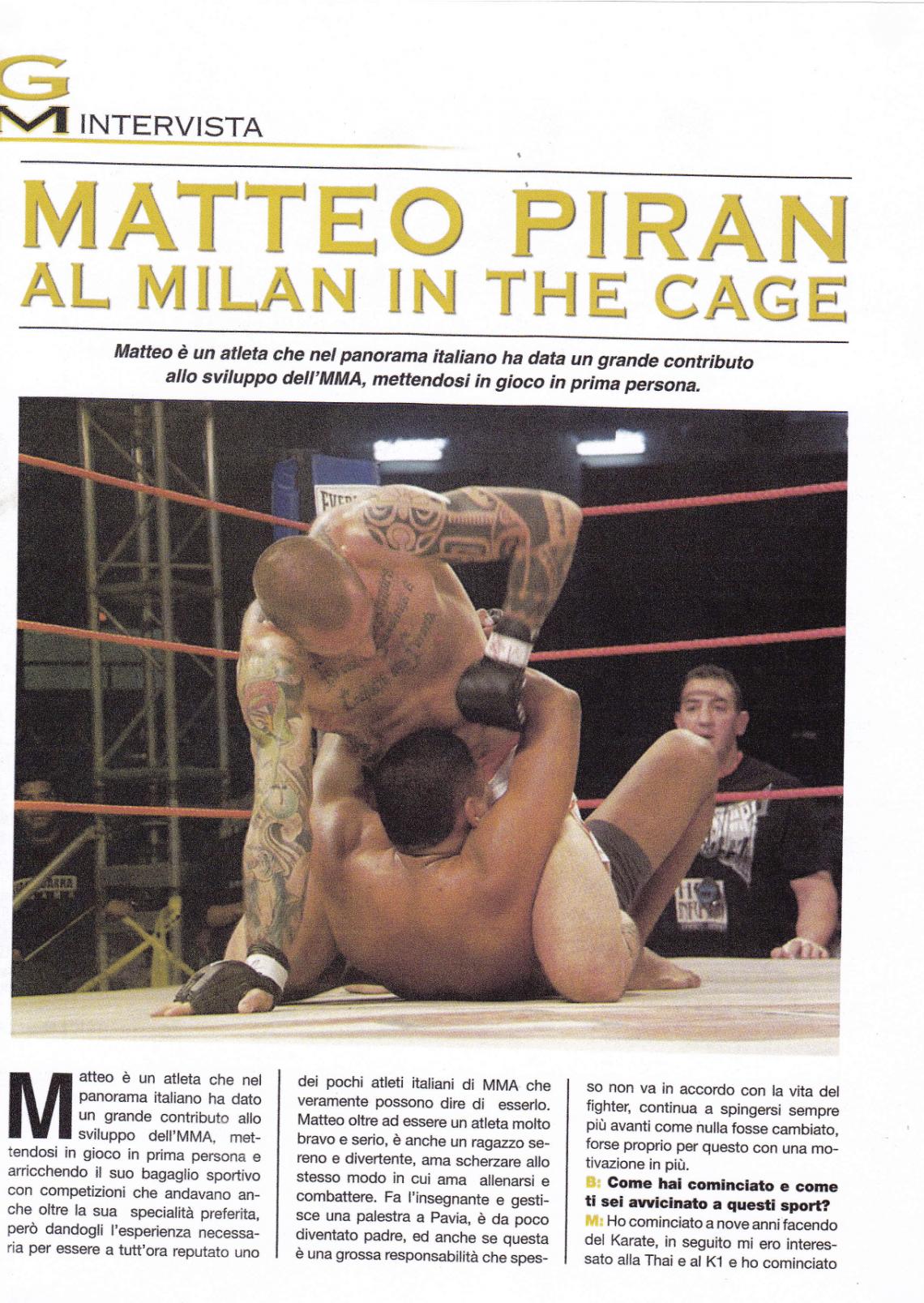 Matteo Piran su Budo International 1