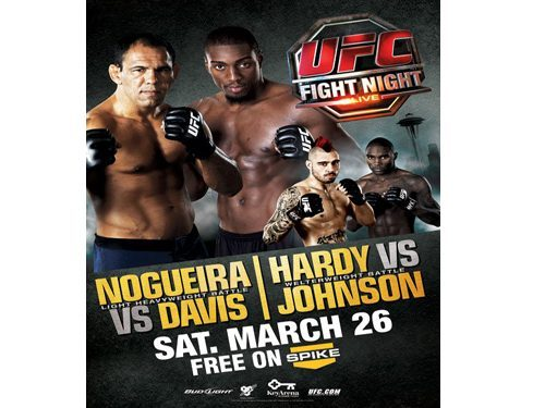 UFC Fight Night 24: Nogueira vs. Davis 1