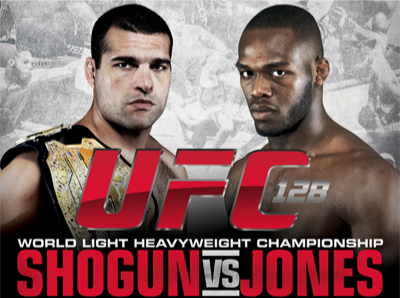 Risultati UFC 128: Shogun vs. Jones 1